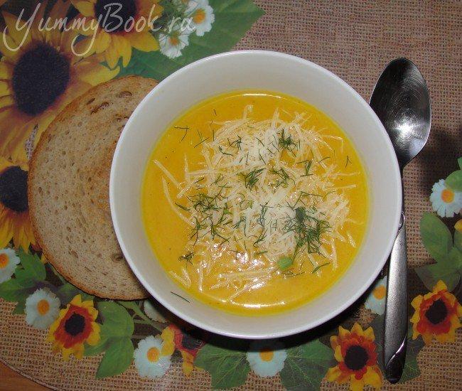 Тыквенный суп-пюре - шаг 5