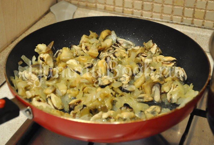 Жюльен из морепродуктов - шаг 4