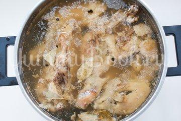 Холодец из курицы, пошаговый рецепт с фото