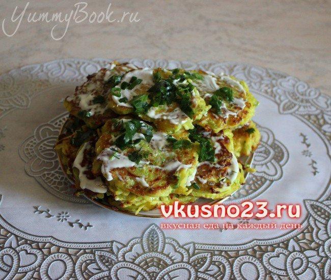 Картофельно-кабачковые оладьи - шаг 4