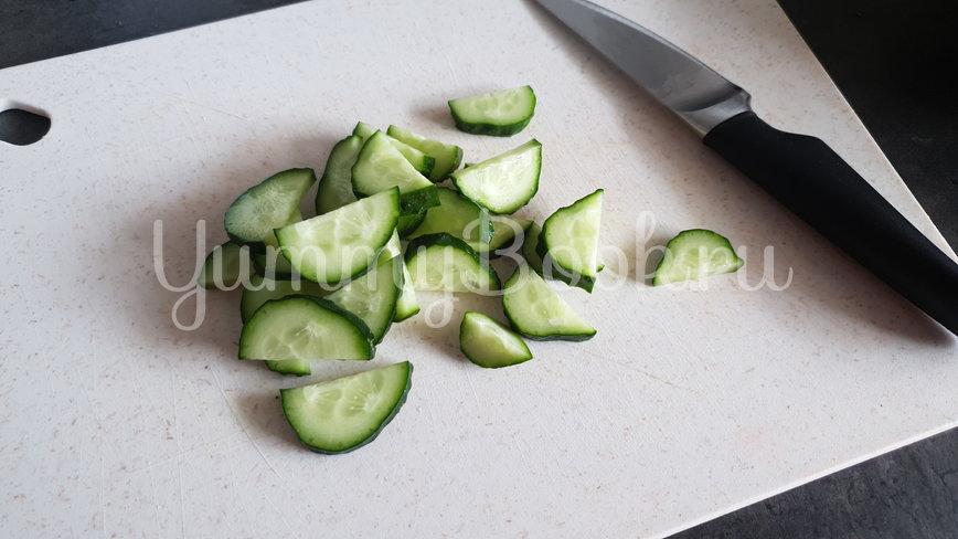 Греческий салат - шаг 3