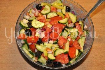 Греческий салат - шаг 4
