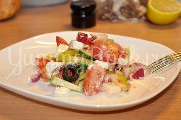 Греческий салат - шаг 5