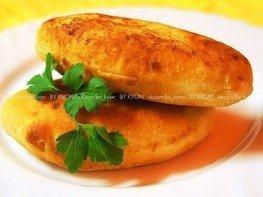 Жареные пирожки с картошкой (тесто на кефире)