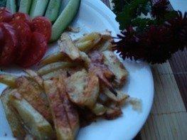 Картофель фри (диетический вариант)