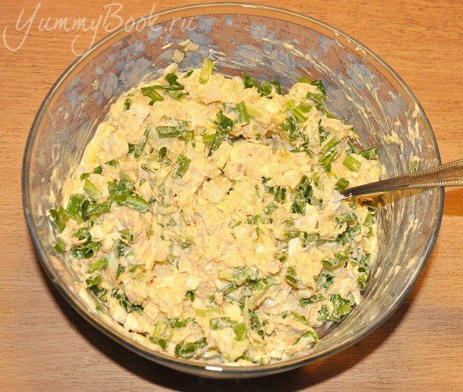 Салат с тунцом - шаг 5