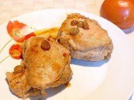 Курица в пряном соусе в мультиварке