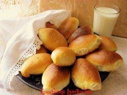 Пирожки дрожжевые