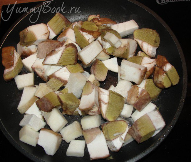 Картофельно-грибная запеканка - шаг 3