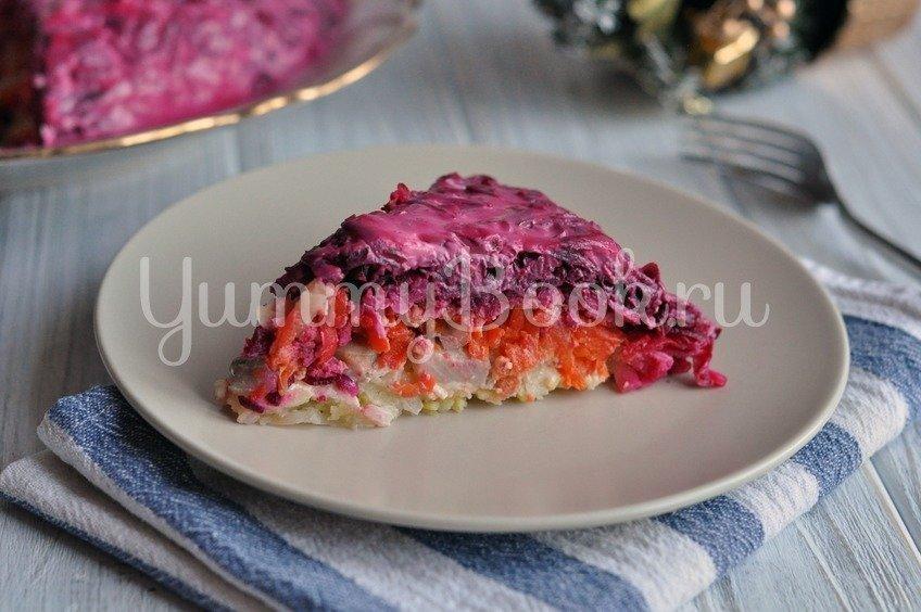 Сельдь под шубой - салат
