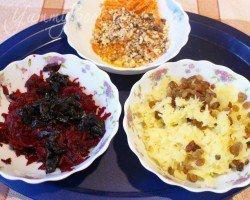 Овощной салат с черносливом - шаг 1