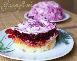 Овощной салат с черносливом - шаг 5