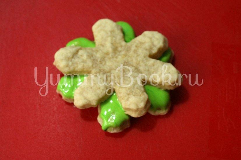 Ёлка из печенья - шаг 6