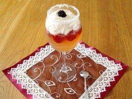 """Десерт из шампанского """"Новогодний сюрприз"""""""
