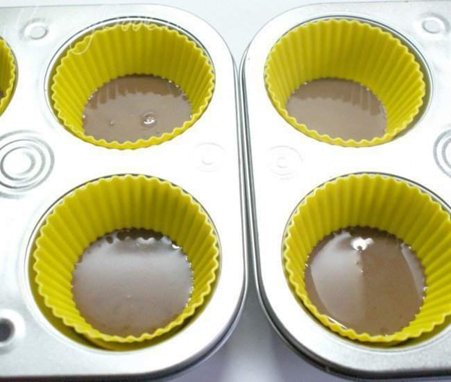 Молочно-шоколадный десерт - шаг 2