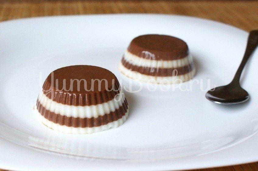 Молочно-шоколадный десерт