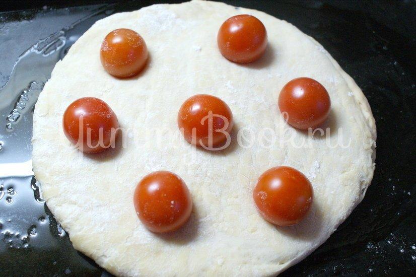 Фокачча с помидорами черри - шаг 3