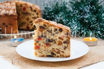 Рождественский кекс Dundee Cake - шаг 9