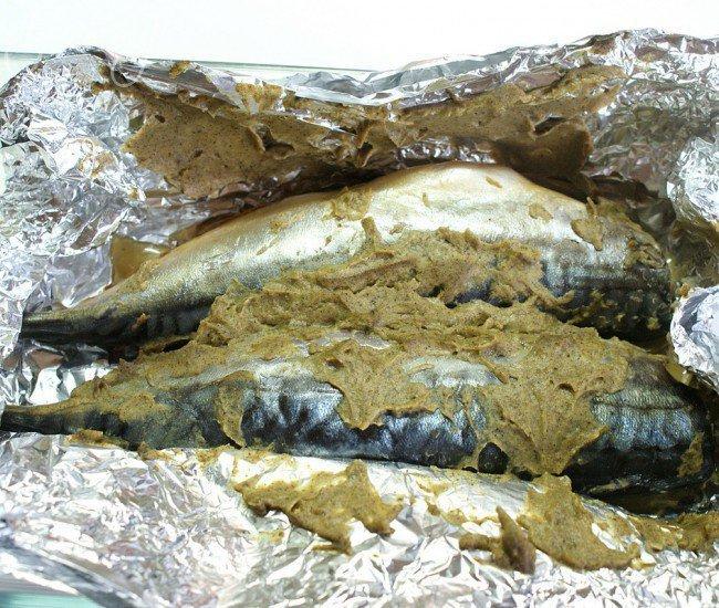 Скумбрия запеченная  в горчице - шаг 4