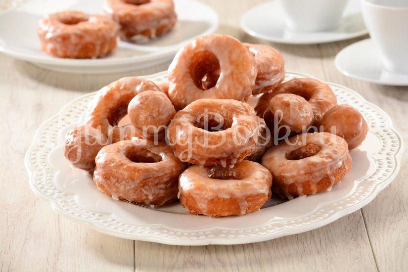 Пончики сахарные с глазурью - шаг 8