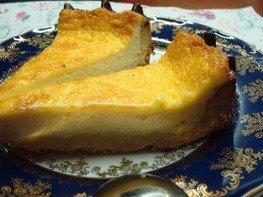 Тарт с заварным сливочным кремом
