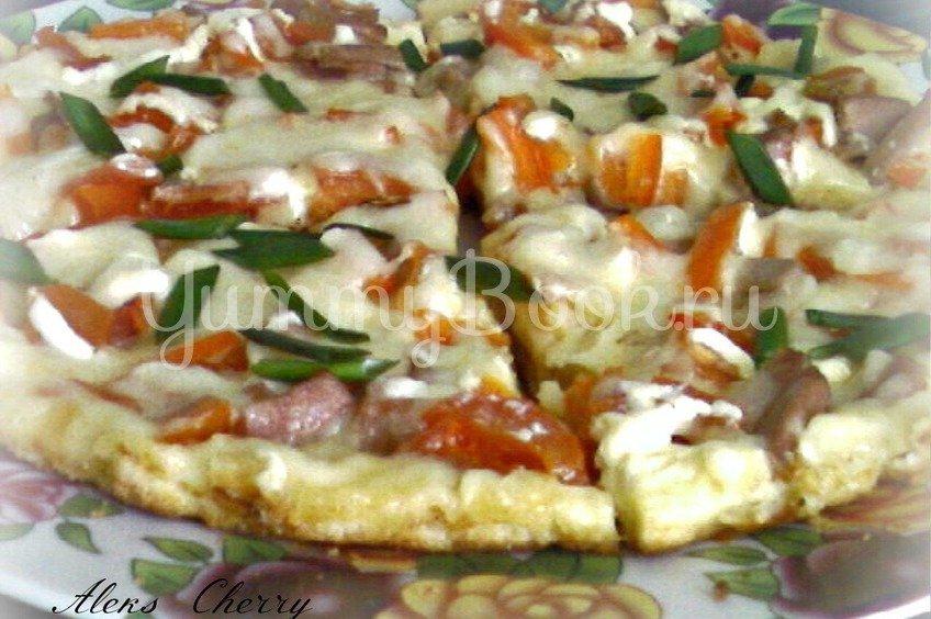 А-ля пицца в сковороде за 10 минут