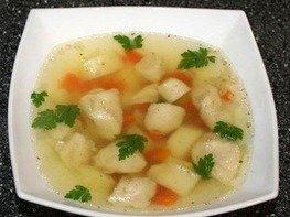 Суп с галушками по-полтавски