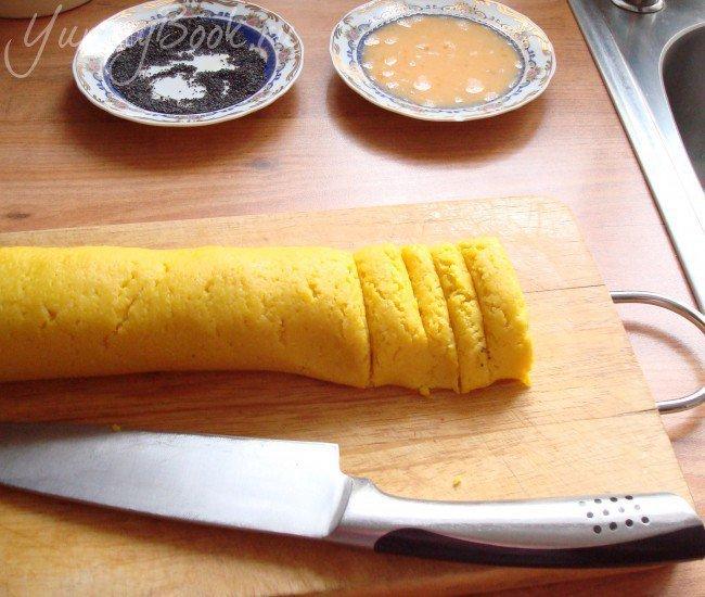 Сырное печенье с маком - шаг 2