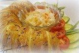 Куриная колбаса в тесте с тмином