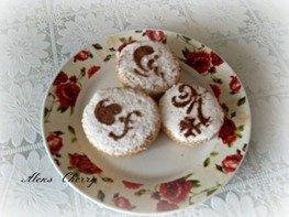Пирог из варенья в виде кексов