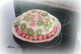 Тортик фруктово- бисквитный
