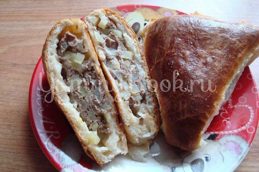 Эчпочмак (или пирожки с мясом и картофелем)