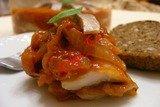 Селедка в медово - луковом соусе