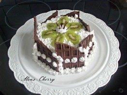 Тортик бисквитный