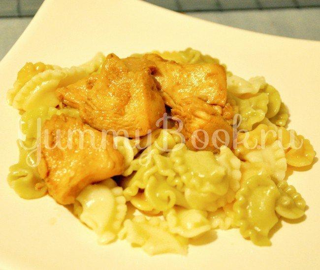 Куриное филе в пикантном соусе - шаг 3