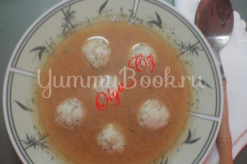 Рыбный суп с фрикадельками