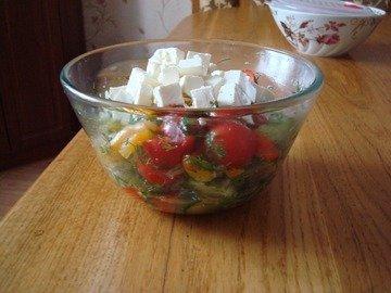 Салат шопский