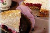Пирог вишнево-творожный АГУША