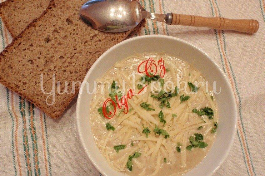 Польский хлебный суп с сыром