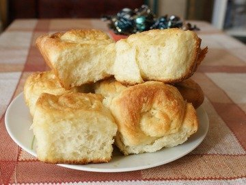 Сахарные булочки в медовой глазури