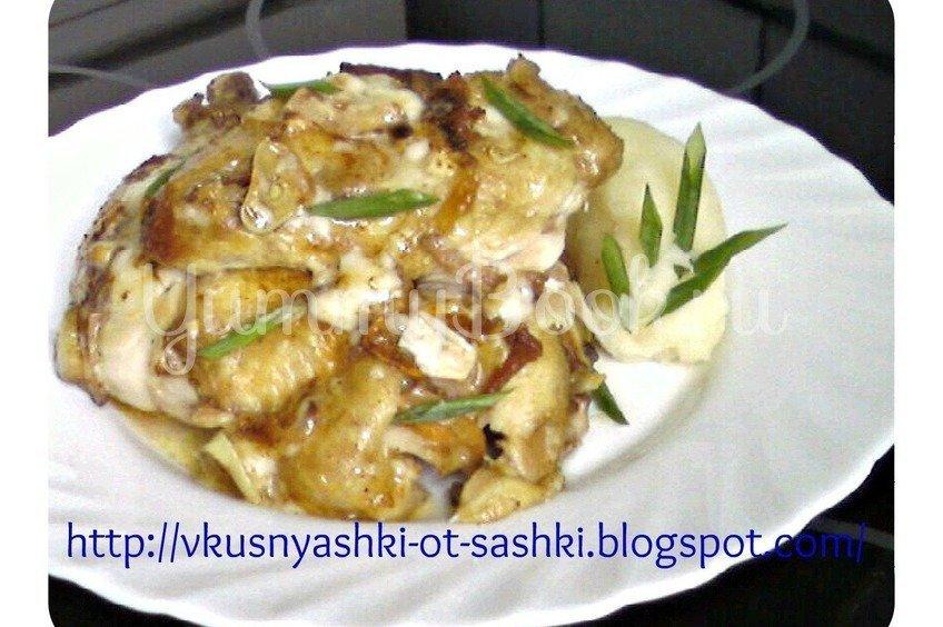 Чесночная курица по-венгерски (magyar fakhagymás csirke)