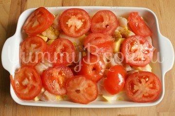 Запеканка куриная с картофелем, сыром и помидорами - шаг 4