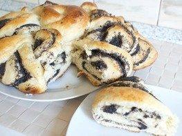Дрожжевой пирог с маком