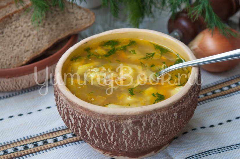 Гречневый суп в мультиварке - шаг 6