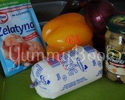 Вегетарианский сальцесон (творожно-овощной батон) - шаг 1