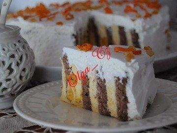 """Апельсиновый торт """"Закрученный"""""""