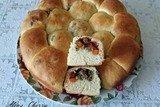Пирожки с фаршем и овощами