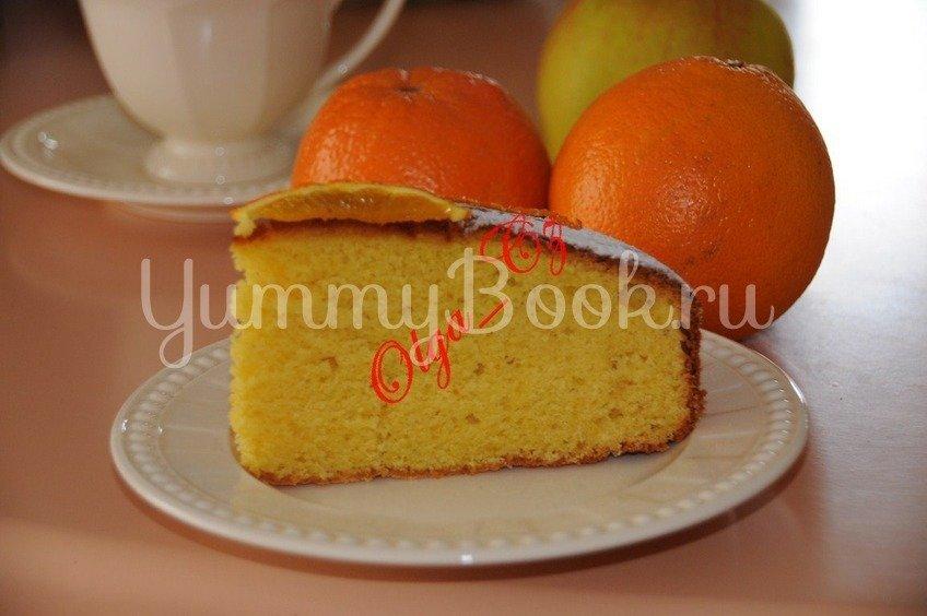 Тунисский апельсиновый кекс/пирог