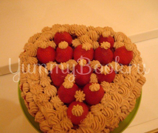 Миндальный торт с клубникой (без выпечки и муки) - шаг 3