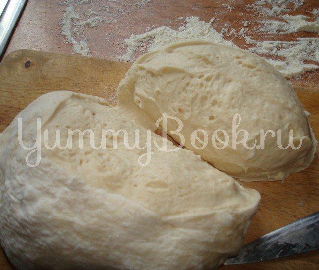 """""""Обезьяний"""" хлеб с сыром и чесноком - шаг 1"""
